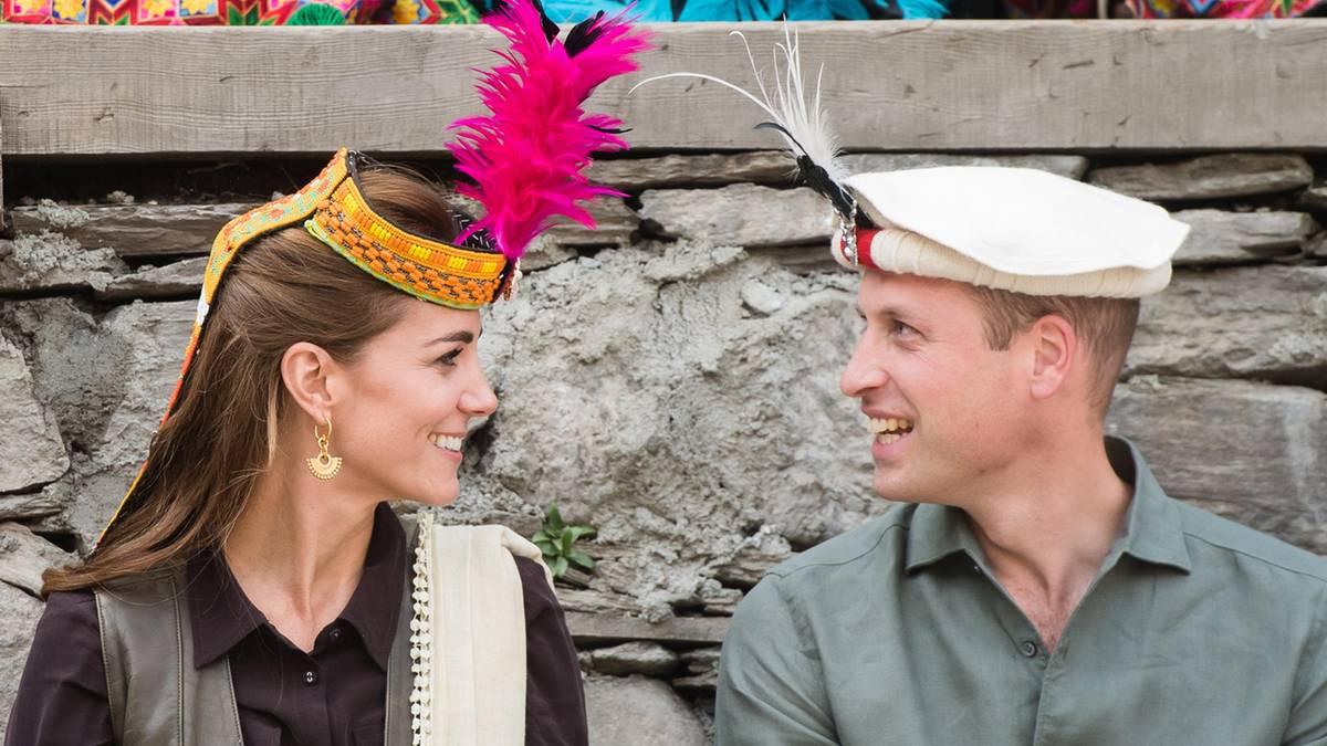 Herzogin Kate + Prinz William: Die schönsten Momente der Pakistan-Reise