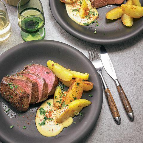 Rinderfilet-Rezepte: Chateaubriand mit Sauce Béarnaise