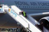 Apropos Entourage: Die ganzen Outfits der Herzogin durften natürlich auch mit nach London ...