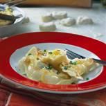 Teigtaschen mit Kartoffelfüllung - Vareniki