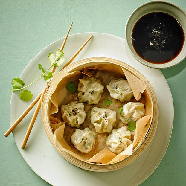 Dim Sum mit Shiitake-Pilzen