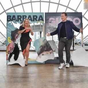 Promi Events: Barbara Schöneberger und Guido Maria Kretschmer auf der Bühne