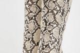 Stiefel mit Schlangen-Muster