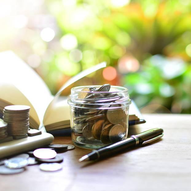 Fondssparplan - deshalb ist er so wichtig: Geld im Glas