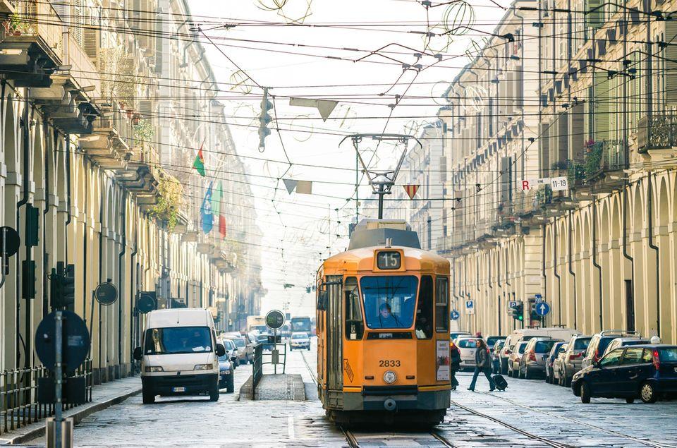 Turin: Die besten Reisetipps: Straßenbahn