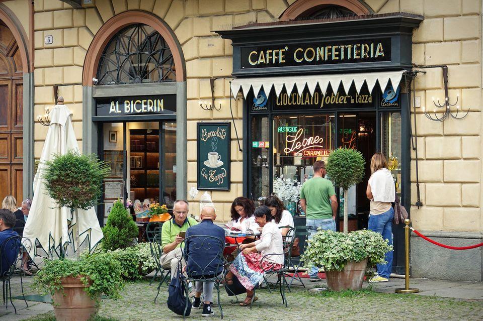 Turin: Die besten Reisetipps: Café