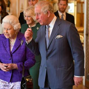 Queen Elizabeth und die Royal Family