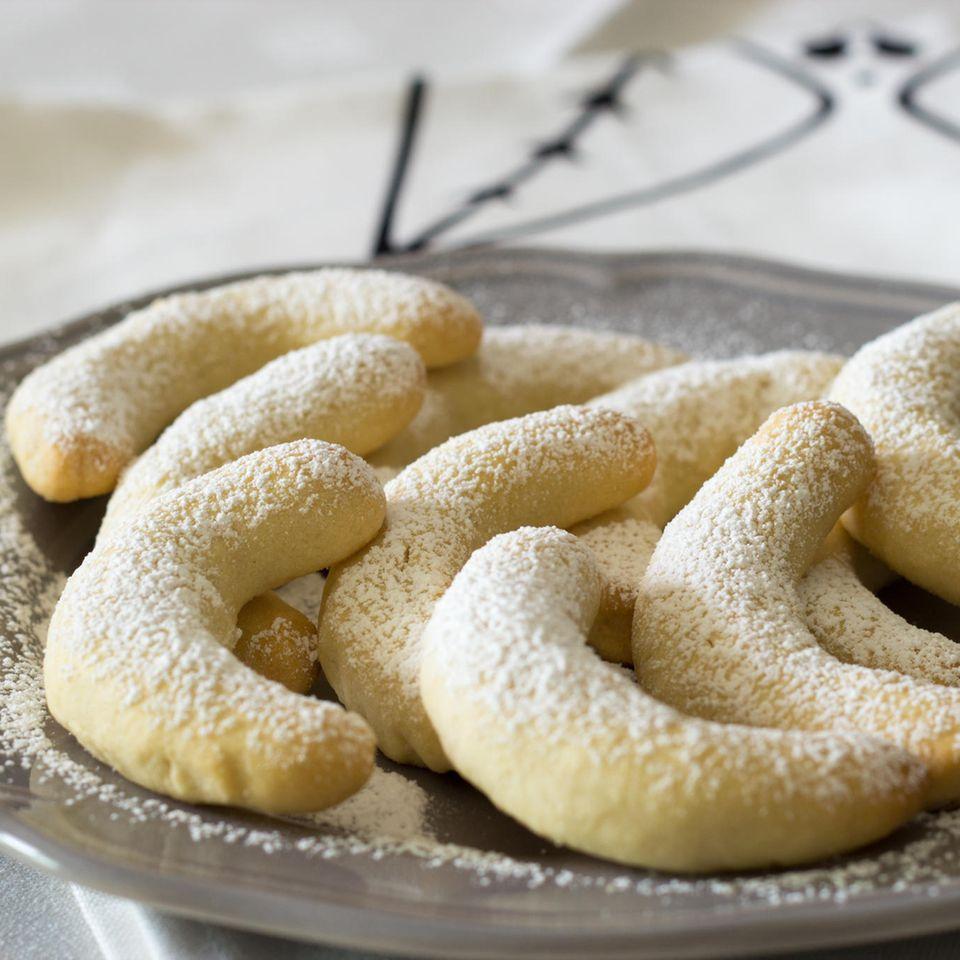 Glutenfreie Vanillekipferl