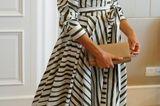 Lady Dianas Looks: Meghan Markle im gestreiften Kleid