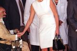 Lady Dianas Looks: Prinzessin Diana im weissen Kleid