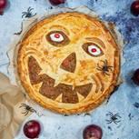 Halloween-Kürbis-Pie