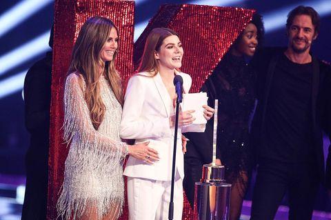 Klaudia Giez im Finale von Germany's Next Topmodel 2018