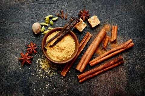 Chai-Sirup: weihnachtliche Gewürze