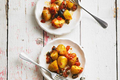 Antipasti-Kartoffeln alla Puttanesca