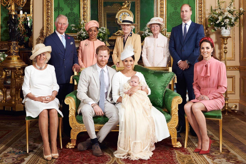 Taufe von Archie Windsor-Mountbatten