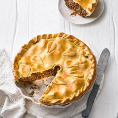 Rindfleisch-Pie