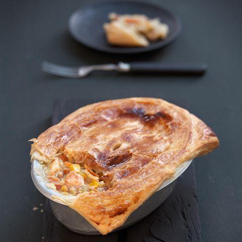 Hähnchen-Mais-Pie