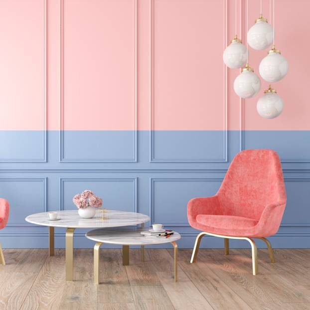 Wand Graublau: Wand Streichen: Ideen Und Effekte Für Dein Zuhause