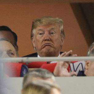 Donald Trump ausgebuht