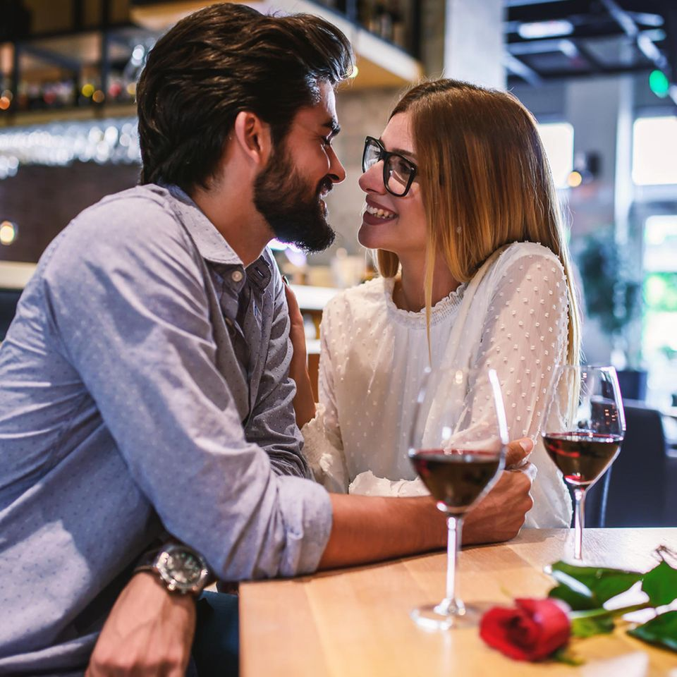 Mosting: Ein Pärchen beim Date