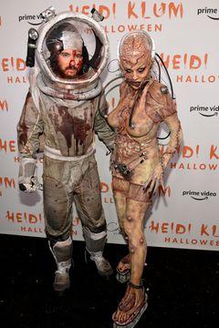 Halloween 2019: Heidi Klum und Tom Kaulitz als Cyborg und Astronaut