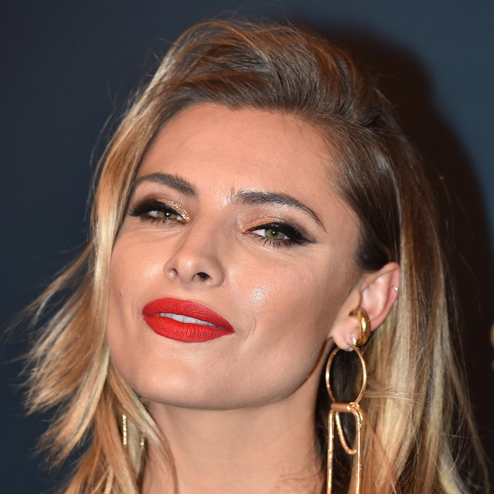 Sophia Thomalla zeigt sich in Leder-Outfit