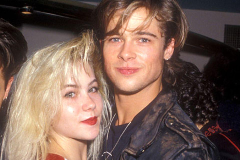 Promi-Paare: Christina Applegate und Brad Pitt
