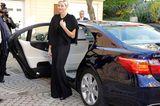 Weihnachten bei den Royals: Prinzessin Charlene von Monaco steigt aus Auto