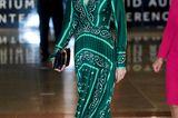 Weihnachten bei den Royals: Königin Letizia im tannengrünen Kleid