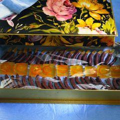 Ingwer-Geleewürfel mit Kumquats