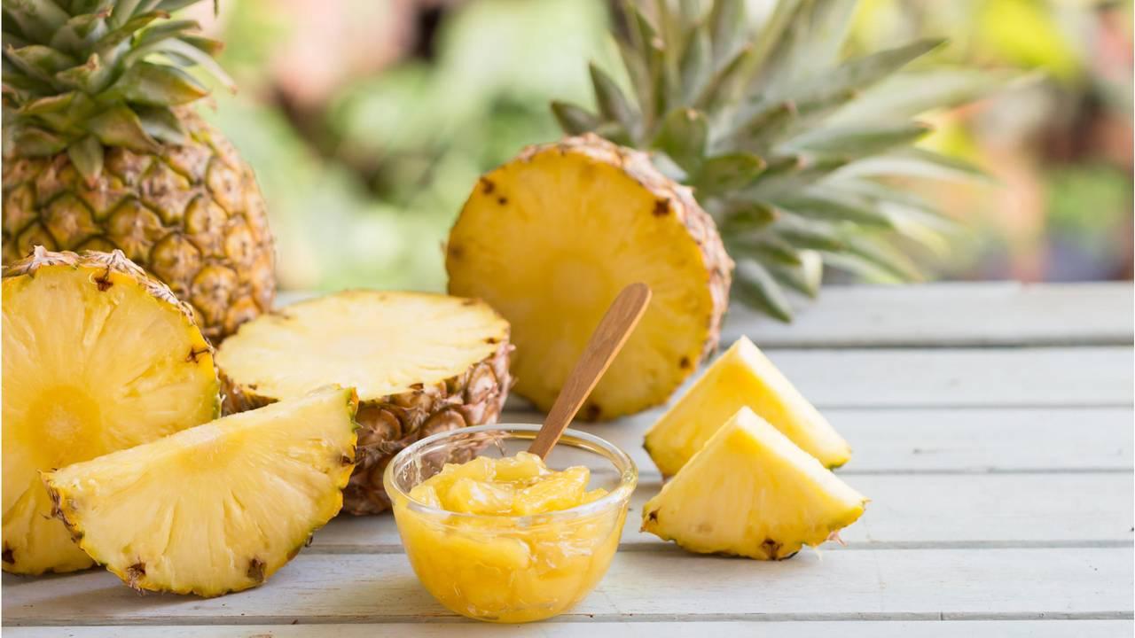 abnehmen mit ananas