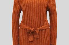 Für alle Frostbeulen: Hier kommt die Rettung! Dieses Strickkleid ist nicht nur ein stylischer Hingucker, es ist auch noch ultra warm. Von C&A, um 30 Euro.