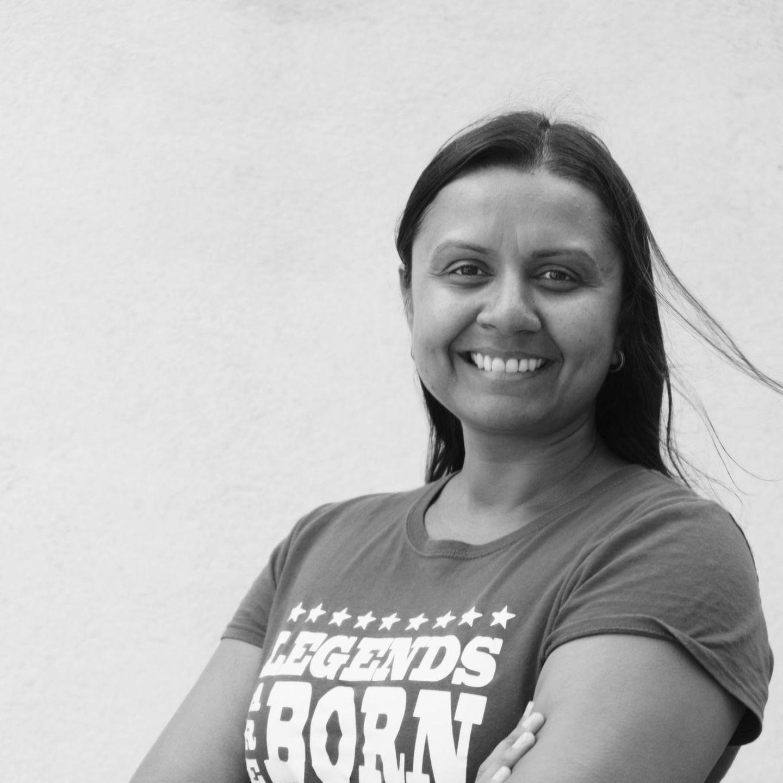 Fotoprojekt-Teilnehmerin Rakhee, 42