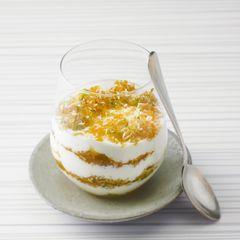 Joghurt-Kokos-Schichtdessert