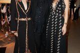 Promi-Events: Christiane Arp posiert mit Lena Meyer Landrut und Emilia Schüle