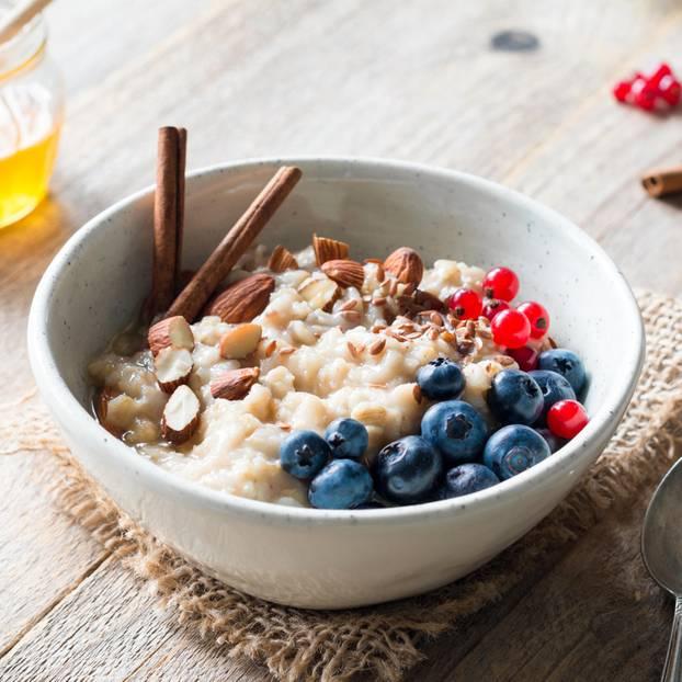 1200 Kalorien-Diät: Porridge