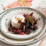 Meerrettich-Mousse mit Rote-Bete-Salat