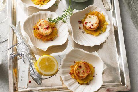 4-Gänge-Menüs für Weihnachten: Kartoffelrösti