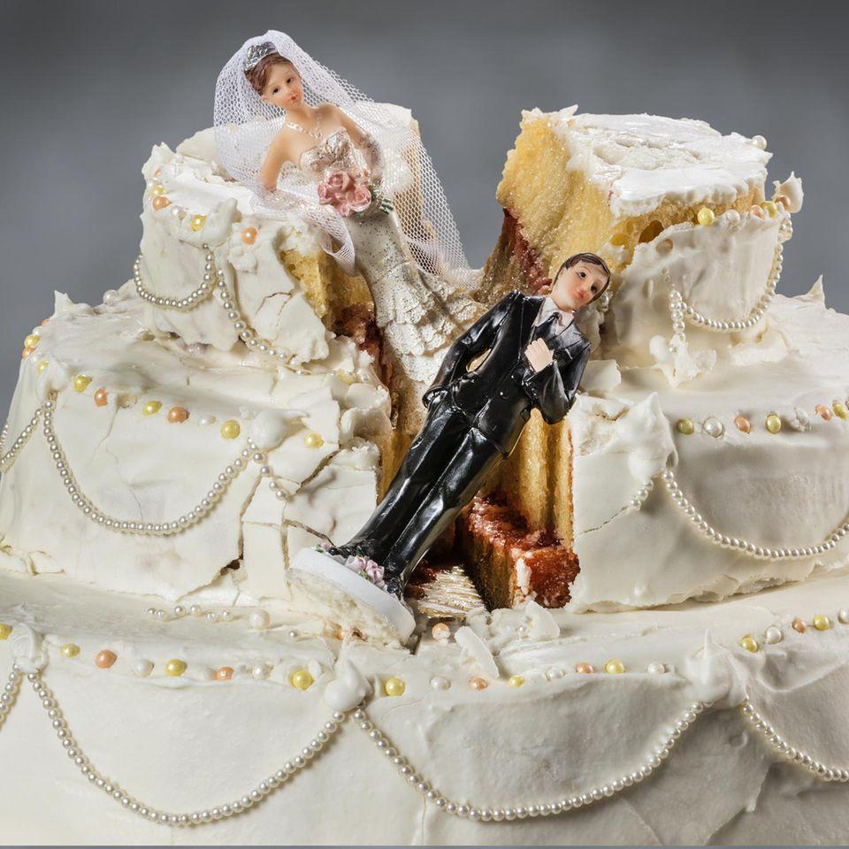 4 Hochzeiten und eine Traumreise: Trennung