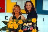 90er Moderatorinnen: Marijke Amado mit Blümchen