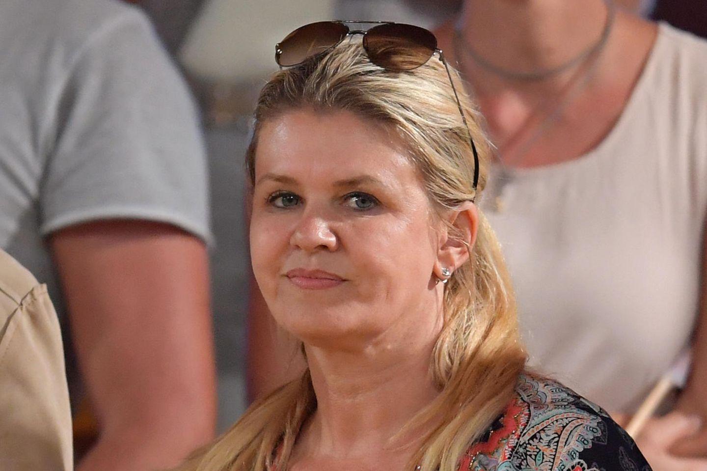 Corinna Schumacher im Publikum