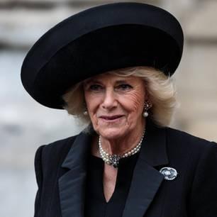 Herzogin Camilla im Januar 2019