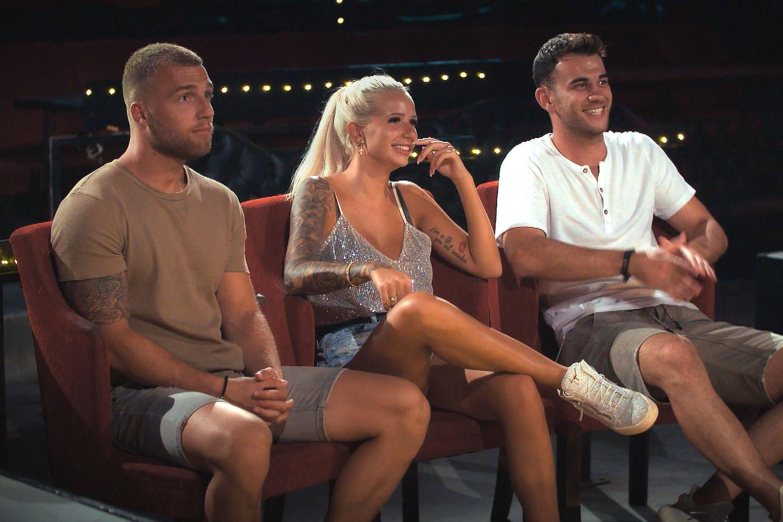 Bachelor in Paradise: Filip, Carina und Serkan auf einem Date