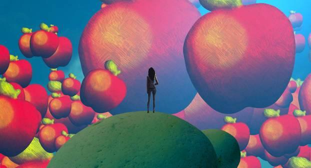 Traumdeutung: Frau träumt von Äpfeln