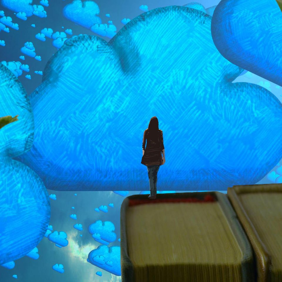 Traumdeutung: Frau träumt von Wolken