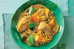 Linsen-Curry mit Hühnerbrust