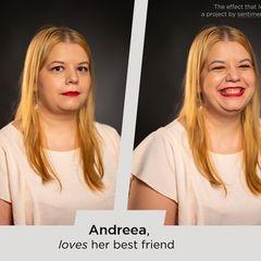 Wie Liebe uns verändert: Zwei Porträts von einer Frau