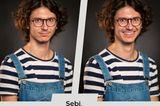 Wie Liebe uns verändert: Zwei Porträts von einem jungen Mann