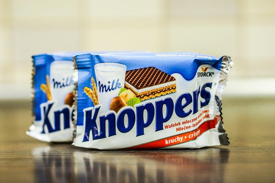 Knoppers-Fans aufgepasst: Neue Rezeptur mit Gefahr für Allergiker!