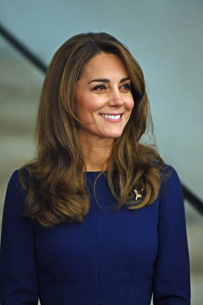 Haarfarben der Royals: Kate Middleton lächelt